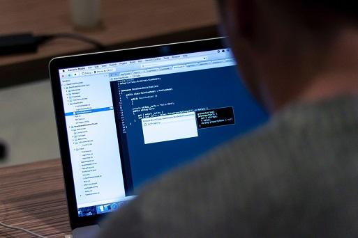 Computadora usando Big Data