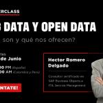 Masterclass: Big Data y Open Data ¿Qué son y qué nos ofrecen?