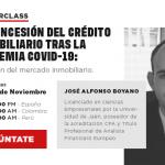 Masterclass sobre la concesión de crédito inmobiliario tras la pandemia